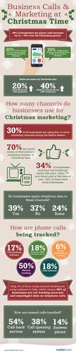 Biz Calls Marketing Xmas Infographic