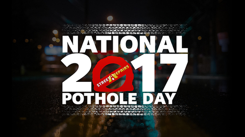 National Pothole Day 2017