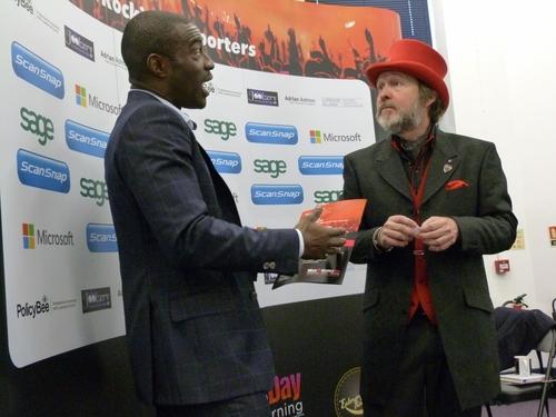 Tony Robinson OBE & Tim Campbell MBE