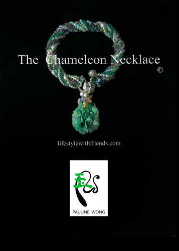 The Chameleon Necklace