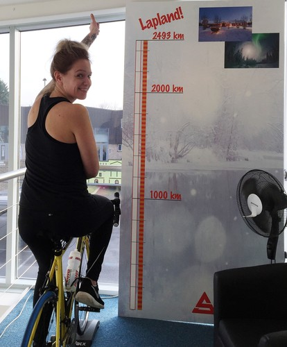 Account Manager Emma Begins Her Cycle