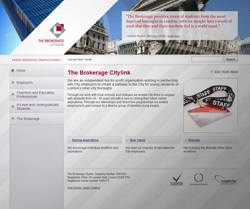 The Brokerage Website