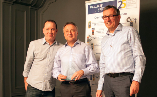 Mayflex win Fluke Award