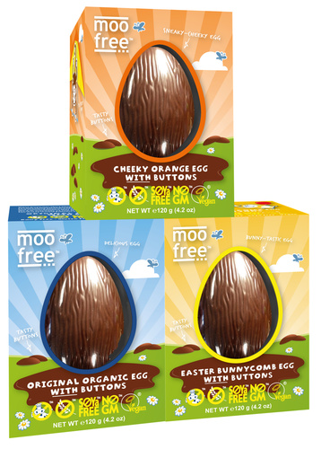 Moo Free free-from Easter egg range 2017