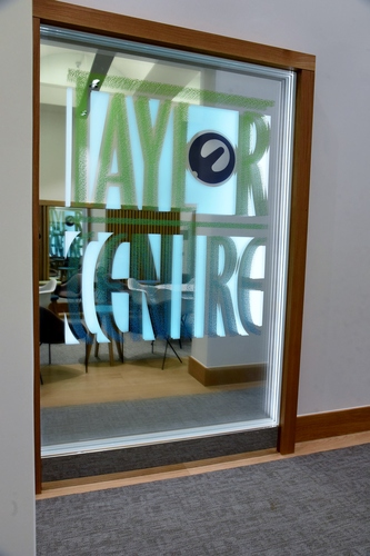 Sign at the Taylor Centre