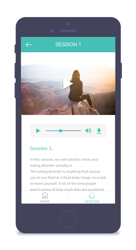 Recover & Me App, Therapeutic videos