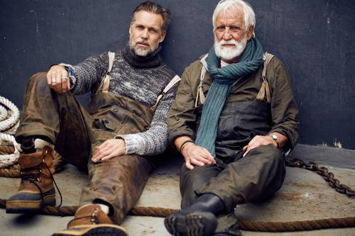 Models Remco & Aad Van Der Linden