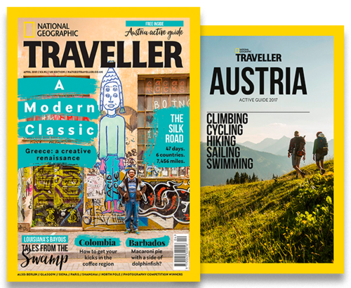 National Geographic Traveller Apr 2017