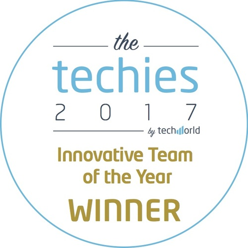 Techies 'Innovative Team of the Year'