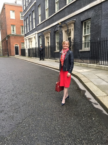 Laura Young on Downing Street