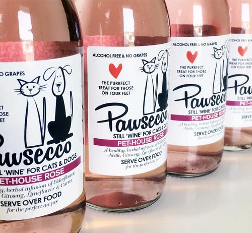Pet-House Rose Pawsecco