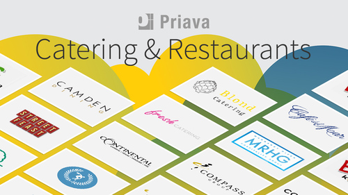 Caterers turn to Priava technology