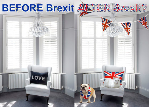 Post Brexit interior design in the UK?