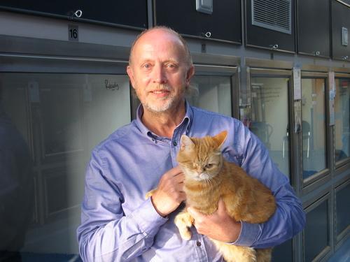 Tony Gamble at Cats Protection