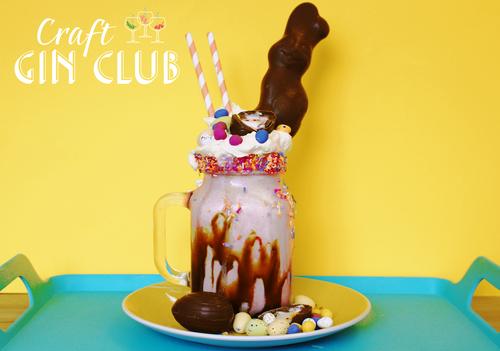 Craft Gin Club Easter Freakshake