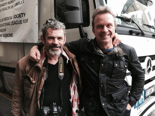 Mark Hannaford and Paul Conroy