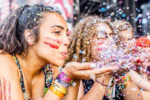 Sziget Festival Confetti