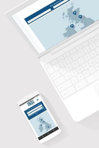 Indi responsive website