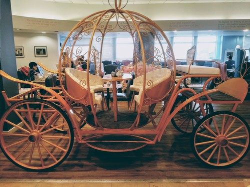 The Cinderella Carriage dining table