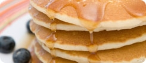 Mini Pankcakes with Loseley