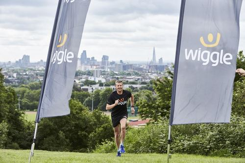 Steve Cram launches Wiggle's #MyMile