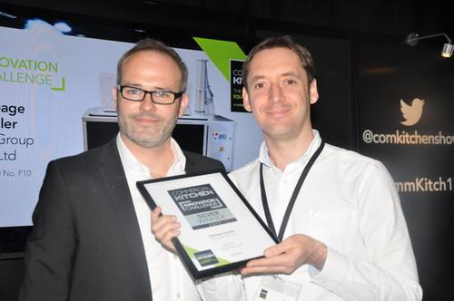 Sam Christie of PKL receiving the award
