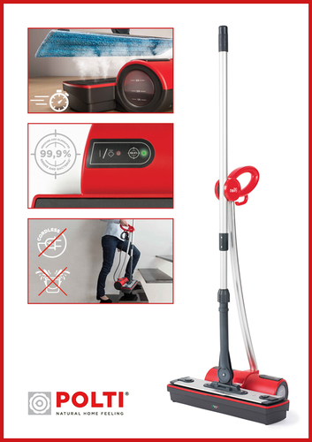 Moppy by Polti a new Steam Cleaner