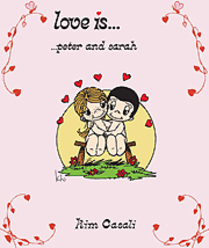 Cover of Love Is... personalised book