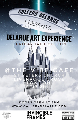 Delarue Experience front cover