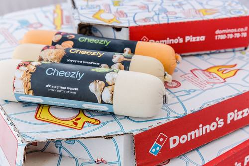 Domino's pizza Israel Cheezly topping