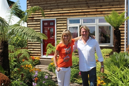 Michaela Strachan and David Domoney