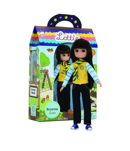 Lottie - Brownie Doll