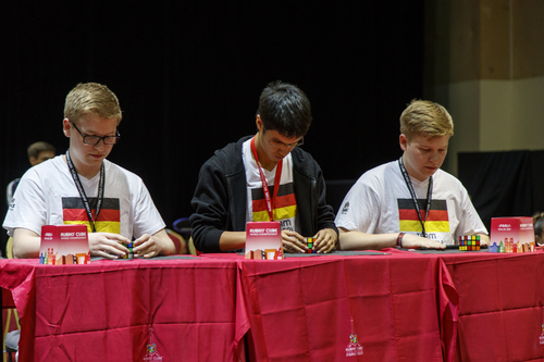 Germany in the Rubik's Nations Cup