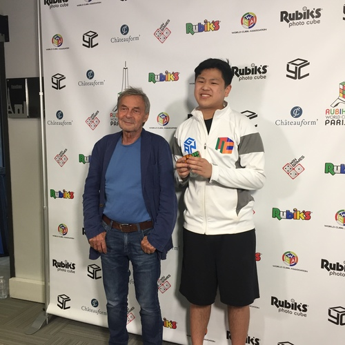 Max Park and Erno Rubik