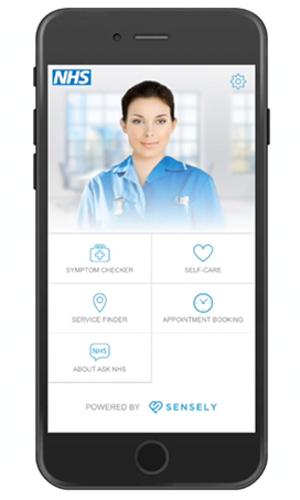 Ask NHS mobile app