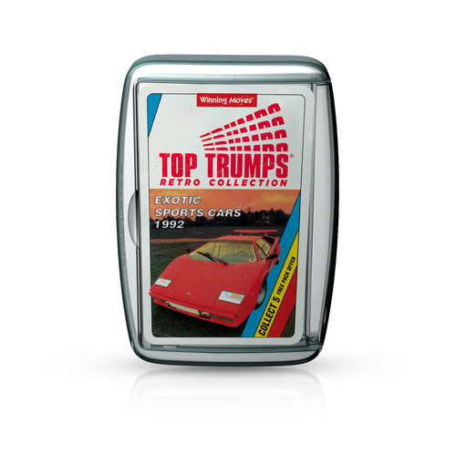 Top Trumps Retro - Exotic Cars
