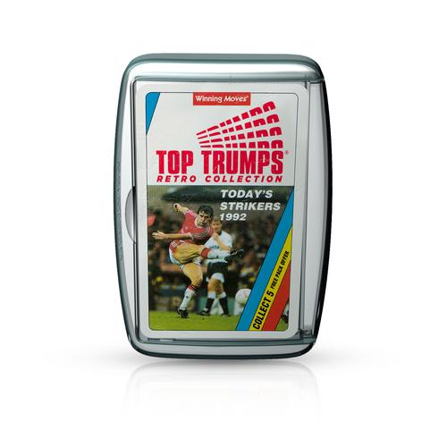 Top Trumps Retro - Today&#039s Strikers 1992