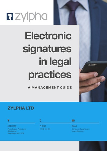 Zylpha's eSign Management Guide