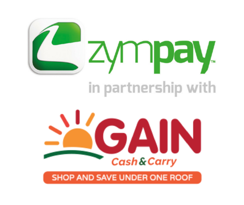 ZymPay GAIN Cash &amp Carry partnership