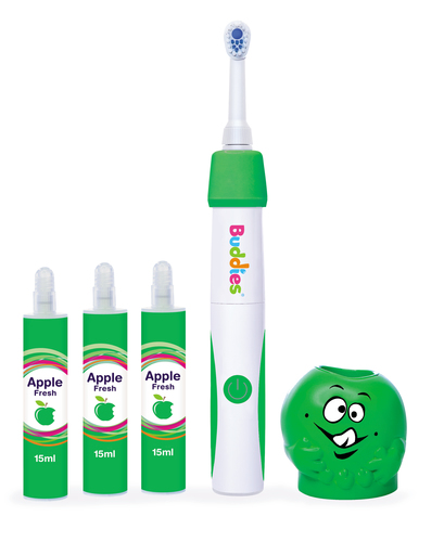 Buddies toothbrush system for toddlers