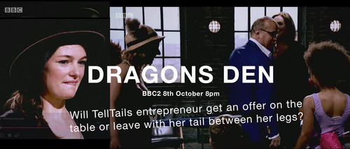 TellTails on Dragons Den