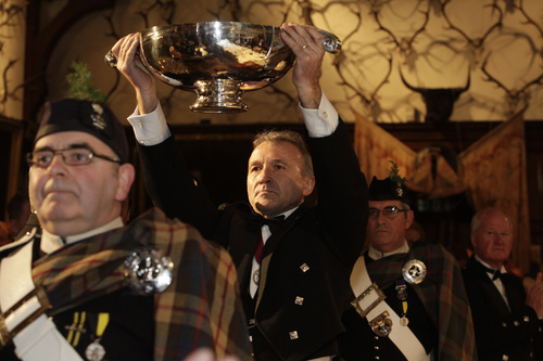 Master of the Quaich at Keepers Banquet