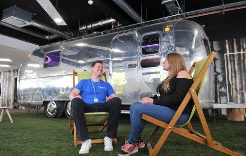EKM Airstream Caravan meeting room