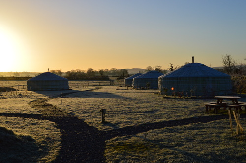 Magical Yurting in the Winter in Dorset