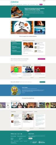 BookTrust Homepage