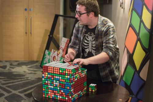 Tom Crosbie, Rubik's Mosaic