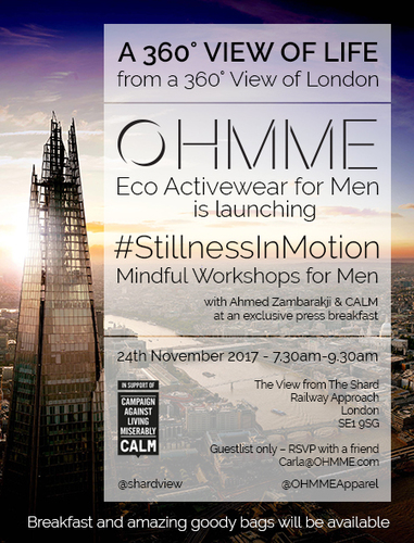 OHMME Press Breakfast Invite