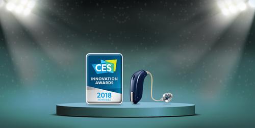 Oticon CES award