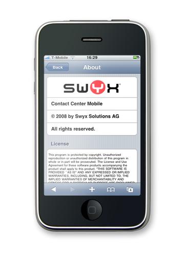 Swyx iPhone