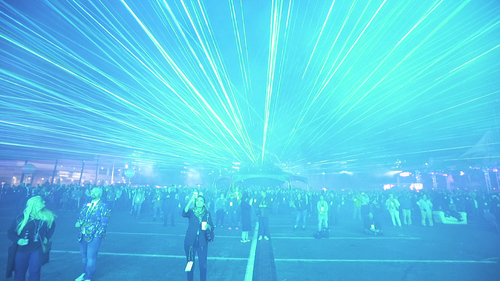 ER Productions Largest Laser Show record